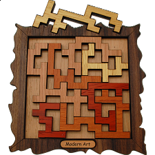 Modern Art - European Wood Puzzles