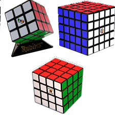 Group Special - a set of 3 Rubik's Cube puzzles -