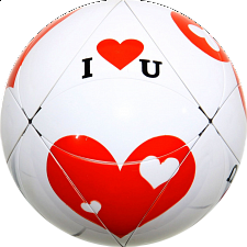Twist Ball - I Love You -