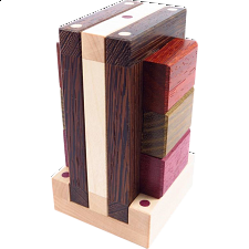 Wide Portico - Wood Puzzles