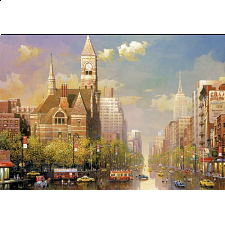 New York Afternoon - Alexander Chen - 6000 - 40320 Pieces
