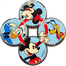 Gear Shift Brainteaser - Mickey Mouse - Other Rotational Puzzles