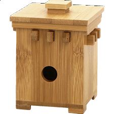 Bamboo Safe #1 - Wooden Puzzle Boxes