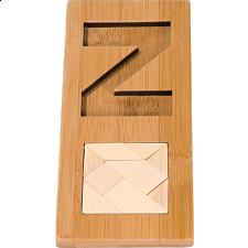 IQ-Test - Letter Z Puzzle - Other Wood Puzzles