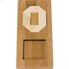 IQ-Test - Letter O Puzzle - Other Wood Puzzles