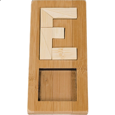 IQ-Test - Letter E Puzzle - Other Wood Puzzles