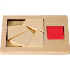 IQ-Test - Extra Piece: Square 6 - Wood Puzzles