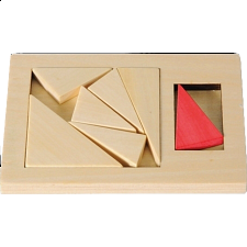 IQ-Test - Extra Piece: Triangle - Other Wood Puzzles