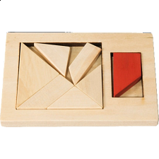 IQ-Test - Extra Piece: Tetragon - Other Wood Puzzles
