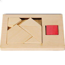 IQ-Test - Extra Piece: Square 1 - Other Wood Puzzles