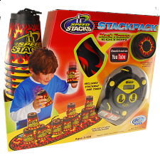 Speed Stacks: StackPack - Black Flames Edition - Games & Toys