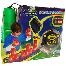 Speed Stacks: StackPack - Metallic Green - Games & Toys