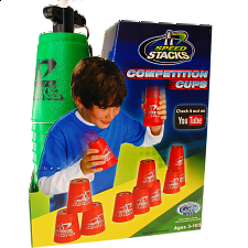 Speed Stacks: Competition Cups - Metallic Green - Games & Toys