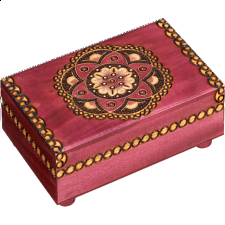 Kaleidoscope Trick Box - Wooden Puzzle Boxes