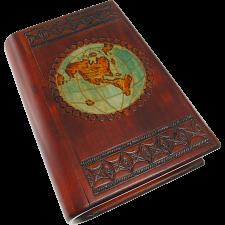 World Map Puzzle Box -