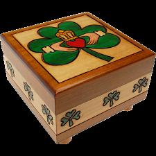 Claddaugh Puzzle Box -
