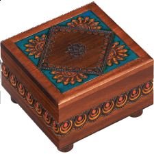 Kaleidoscope Trick Box #2 - Wooden Puzzle Boxes