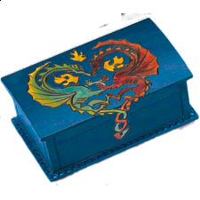 Dragon Trick Box - Wooden Puzzle Boxes