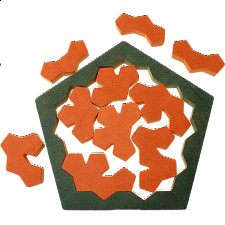 The Pentagon Tiles - Other Wood Puzzles