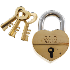 Trickschloss 7 Herz - Puzzle Locks