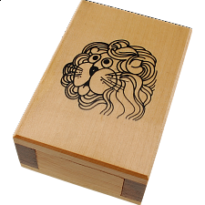 Zodiac Box - Leo - European Wood Puzzles
