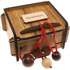 Verschnürt Box - European Wood Puzzles
