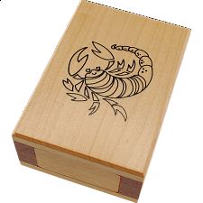 Zodiac Box - Scorpio - European Wood Puzzles
