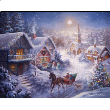 Dashing through the Snow - Large Piece Format - 101-499 Pieces