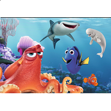 Finding Dory - Giant Floor Puzzle (24 Pieces) - 1-100 Pieces