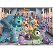 Monsters Inc: The Whole Gang - Giant Floor Puzzle - Jigsaws