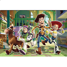 Disney Toy Story 2: The Toys at Day Care - 2 x 24 piece puzzles - 1-100 Pieces