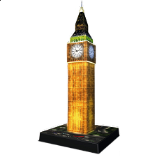 Ravensburger 3D Puzzle Night Edition - Big Ben - Search Results