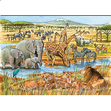Out of Africa - Tray Puzzle - 1-100 Pieces