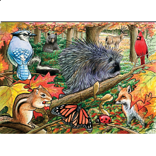 Eastern Woodlands - Tray Puzzle - 1-100 Pieces