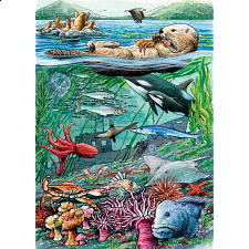 Life on the Pacific Ocean - Tray Puzzle - 1-100 Pieces