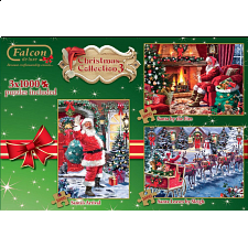 Christmas Collection 3 - (3 x 1000 Piece Jigsaw Puzzles) - Jigsaws
