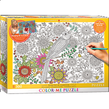 Color-Me Puzzle - Beautiful Garden - 101-499 Pieces