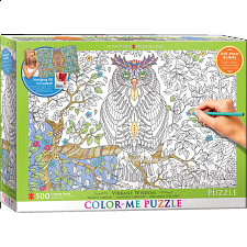 Color-Me Puzzle - Vibrant Wisdom - 500-999 Pieces