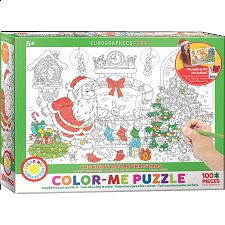 Color-Me Puzzle - The Night Before Christmas - Jigsaws