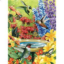 Hummingbird Garden - 500-999 Pieces