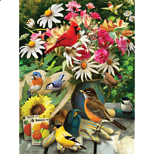 Garden Birds - 500-999 Pieces