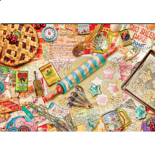 Pastry Party - EZ Grip Large Piece Puzzle - Search Results