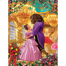 Beauty and the Beast - EZ Grip Fairytale Book Box Collectible - 101-499 Pieces