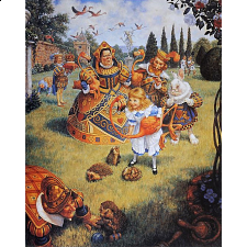 MasterPieces The Queens Croquet Book Box Jigsaw Puzzle - Search Results