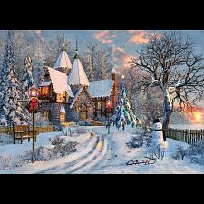 Dominic Davison - Christmas Cottage - 1000 Pieces