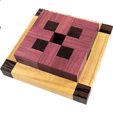 Rose - European Wood Puzzles