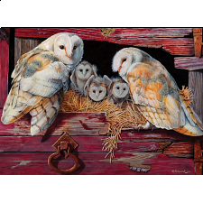 Barn Owls - 1000 Pieces