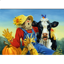 Barnyard Duet - 101-499 Pieces