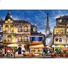 Pretty Paris - Large Piece Format - 101-499 Pieces