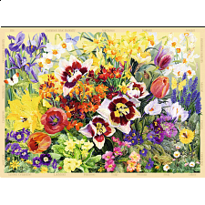 Cottage Garden - Spring - 500-999 Pieces